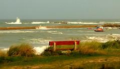 17 09 11 Pors Guen 2 (pghcork) Tags: porsguen plouescat finistere brittany bretagne france stormyseas waves boats fishingboat