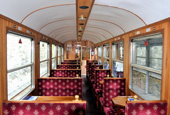 WHR Carr 2060 Interior (R~P~M) Tags: train railway interior coach carriage narrowgauge welshhighlandrailway gwynedd wales cymru uk unitedkingdom greatbritain