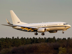 United States Navy | Boeing C-40A Clipper | 168981 (Bradley's Aviation Photography) Tags: eghh boh bournemouth bournemouthairport dorset usnavy usaf mil military 747 clipper c40 168981 boeingc40a boeing boeingc40aclipper