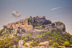 Eze Vilage (harakis picture) Tags: village france paca cote dazur french riviera nice landscape paysage mer sea ocean boat bateau sony a7
