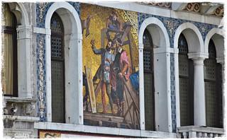 Detail Palazzo di Mura Morosini (Canal Grande) * Detail * Detalles *   .  DSC_1463-001