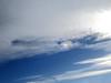 Fallstreak-Hole - Nebensonne - Parhelion (*hannes*) Tags: cirrocumulus stratiformis cavum parhelion nebensonne sundog virga fallstreakhole punchholecloud halo