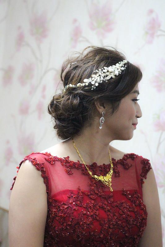 雲林新秘,新娘秘書,文定造型,韓風典雅,浪漫仙仙,斗六永茂婚宴會館