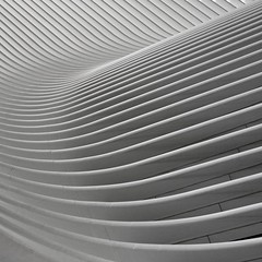 WAVE (time.code) Tags: nyc oculus pathstation minimalism minimal architecture bw bnw lines