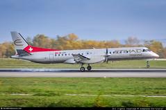 [EAP.2015] #Etihad.Regional #Darwin.Airlines #F7 #S2000 #HB-IZP #awp (CHR / AeroWorldpictures Team) Tags: etihad regional saab 2000 s2000 cn 031 msn eng hbizp an history aircraft test flight se031 linköping lpi sweden crossair lx crx y50 cabin golden air dc gao selog sct ginn racing n168gc vip darwin airline f7 dwt bsl lug airplane planespotting basel mulhouse mlh freiburg european airlines airways nikon d300s lenses nikkor raw lightroom 2015