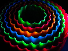 Gonna Go Round In Circles ! (Caroline.32) Tags: macro macromondays sidelit circles rainbow cannon canonpowershotsx530