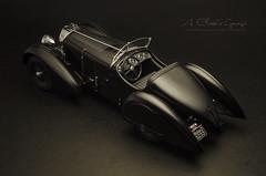 1930 MERCEDES-BENZ SSK Count Trossi Black Prince (aJ Leong) Tags: 1930 mercedesbenz ssk count trossi black prince 118 model kkscales classic cars vintage vehicles automobiles garage scale