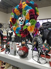 10-12-2017: Day of the Dead swag.  Woburn, MA