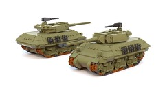 M10 Wolverine and M10 Achilles (C.Ngoc) Tags: tank ww2 lego military allied sherman