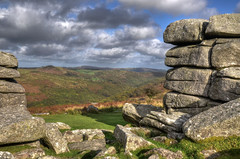 Combestone Tor and the Dart valley, Dartmoor (Baz Richardson (trying to catch up again)) Tags: devon dartmoor combestonetor tors dartvalley