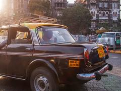 Mumbai 2015 (hunbille) Tags: india mumbai bombay birgittemumbai2lr taxi ambassador colaba