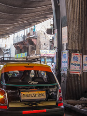 Mumbai 2015 (hunbille) Tags: india mumbai bombay birgittemumbai2lr taxi jj flyover jjflyover