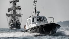 _D819868 : La Pilotine et le Belem (Brestitude) Tags: pilotine pilote pilot port harbor brest mer rade sea boat bateau belem vieuxgréement oldsailingship finistère bretagne brittany breizh ©laurentnevo2017 brestitude