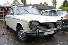 Peugeot 204 (Monde-Auto Passion Photos) Tags: voiture vehicule auto automobile peugeot 204 berline blanc ancienne classique rare rareté collection evenement rassemblement france nemours