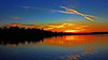 Flying a'X the lake at Dusk (Bob's Digital Eye) Tags: 2017 bobsdigitaleye canon clouds efs24mmf28stm flicker flickr h2o laquintaessenza lake lakesunset lakescape skies sky sunset sunsets sunsetsoverwater t3i water dusk