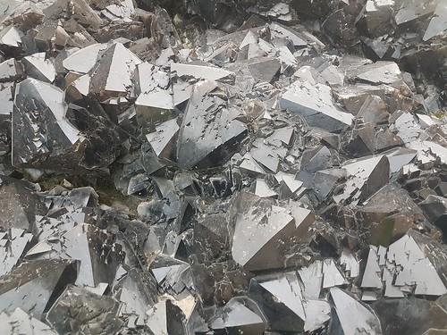 Geant Crystal de Quartz Noir, Jardin des plantes