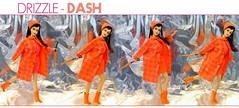 DRIZZLE - DASH (ModBarbieLover) Tags: drizzle dash mod barbie hair fair 1967 1968 1969 doll fashionraincoat boots umbrella pink orange