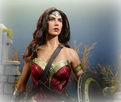 Wonder Woman (MiskatonicNick) Tags: hottoys wonder woman wonderwoman galgadot figure actionfigure 16 dccomics dawnofjustice batmanvssuperman