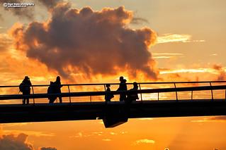 The Millennium Bridge London UK