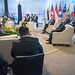 Defense Secretary meets with international ASEAN leadership in the Philippines