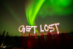 (serrini) Tags: yellowknife tundra northwest territory canada peterson lake lodge slave aurora nature caribou infrared northern lights serrini getlost