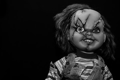 We're friends 'til the end, remember? (Lorrainemorris) Tags: horror flim movie scary goodguy creepy doll chucky childsplay