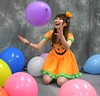 What Fresh Hall (emotiroi auranaut) Tags: girl woman lady beauty cute adorable beautiful halloween toys balloon balloons happy happiness laugh laughter laughing giggle giggles dress purple orange pink blue white yellow joyful joy fun