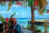 "The Old Man and the Sea (crimsontideguy-from ""Sweet Home Alabama"" USA) Tags: mexico cozumel palmtrees palms photoshop photography travel islands people blue harbours paradise caribbean nikon fun tropical tropics textures myhomesinalabama alabama water nikond5200"