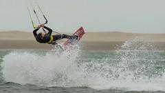 A date on the beach........... (Joke.Benschop) Tags: afsnikkor300mmf28 frankbenschop jokebenschop kijkduin kitesurfing kiteboarding kitesurfen nikond810 wwwjokebenschopcom kitestarsnl kitestars