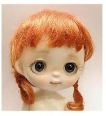 Tutu bjd with red hair! ❤️ (Social Manager) Tags: kawaii bigeyes bjddoll doll bjd baby resin artist tutu ppinkydolls handmade knitt outfits tutubjd blythe
