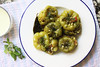 Green Peppers Stuffed with Lentils and Bulgur (kunitsa) Tags: vegetarian dolma cooking turkishfood turkishcuisine purevegetarian prasadam