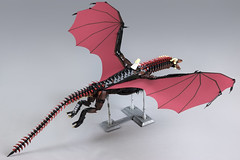Game of Thrones Drogon (Martin Ot) Tags: daenerys dragon drogon game got lego targaryen song wings flying khaleesi clarke scales fantasy fire ice asoiaf beast monster emilia