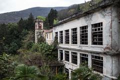 Sanatorium Cannobio abandoned in Italy