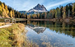 Dolomiti - lago d'Antorno e le Tre Cime