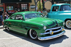 21st Annual La Verne Cool Cruise (USautos98) Tags: 1951 ford shoebox leadsled traditionalhotrod streetrod kustom scalloppaint