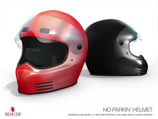 NEW! No Parkin Helmet @ TMD
