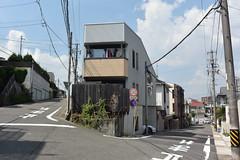 nagoya18061 (tanayan) Tags: urban town cityscape aichi nagoya japan nikon v3 愛知 名古屋 日本 road street alley slope