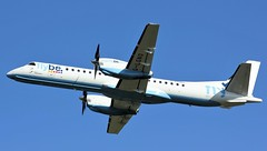 IMG_2156 (AnDyMHoLdEn) Tags: flybe saab2000 saab egcc airport manchester manchesterairport 23l