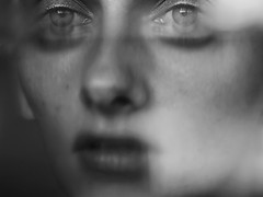 In Shades of Gray (isabellabubola) Tags: ifttt 500px portrait eyes lips me black white emotions woman face selfportrait surreal sensitive blur myself creepy emotional self fine art natural light portraiture