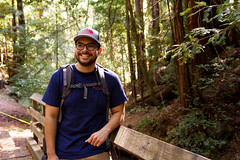 (rogergabrielgarcia) Tags: me big basin hiking redwoods park portrait outdoors