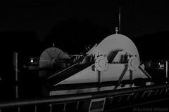 Fontana Dam 13 of 17 (Mr. Low Notes) Tags: 70d tva fontana dam fontanadam outdoors dusk dark night nightshot nightphotography power electricity electric nc blackandwhite bw monochrome