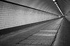 At the end of the tunnel (F719D) Tags: nieuwemaas rotterdam tunnel black white blackandwhite urban street streetphotography light