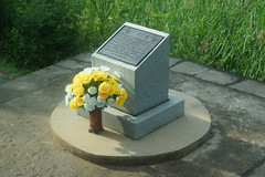 Plaque Memorializing the Ax Murders by North Korea Soldiers (H.E.A.R.T. Productions) Tags: public complete 파주시 경기도 southkorea kr