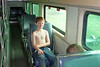 traininter (babyfella2007) Tags: train railroad rail engine locomotive rust rusted rusty tracks car portrait winnsboro fairfield county explore exploring decay museum child riding interior walking climbing bike bicycle young boy children jason taylor grant carson abandon abandoned