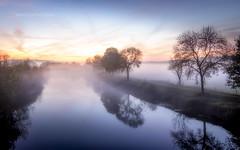 Brume automnale (Explore 28/10/2017) (f.ray35) Tags: brume automn bretagne breizh brittany sunset light automne vilaine landscape