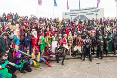 MCM CC 2017 OCT-242 (cameraview4u121) Tags: mcmcomicconlondon mcmexpo mcmexcel cosplay costume characters photography people posing cosplayers docklands scifi entertainment event excellondon popculture dc marvel groups spiderman poisonivy riddler loki harleyquinn deadpool