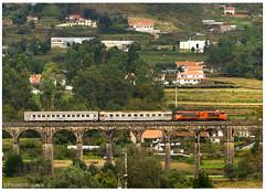 Durrães18-10-14 (P.Soares) Tags: comboio cp caminhodeferro carruagens 1900 1909 ptg locomotiva locomotivas linhas linha laranja linhadominho trains