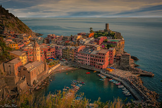 colours of vernazza. Italy