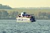 Pleasure boat (Kapitalist63) Tags: pleasure boat river water autumn rivercrossing yupiter37a