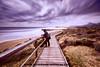 Cala Magre and me (ser-y-star) Tags: cala magre parque natural murcia playa largaexposicion pasarela paisaje costa calblanque